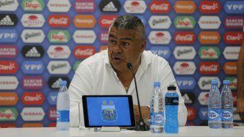 El presidente de la AFA habló en conferencia de prensa.