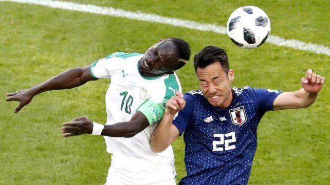 Senegal y Japón empataron 2 a 2 y lideran el grupo H