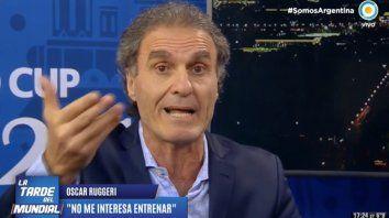 Está bancado por alguien, dijo Ruggeri sobre Caruso Lombardi