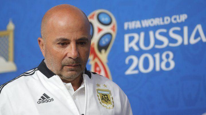 El técnico de la selección argentina