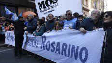 los gremios evaluaron que el acatamiento al paro fue total en la ciudad de rosario