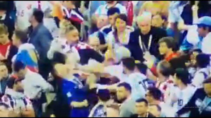 Bullrich expuso a uno de los argentinos que se peleó en el Mundial