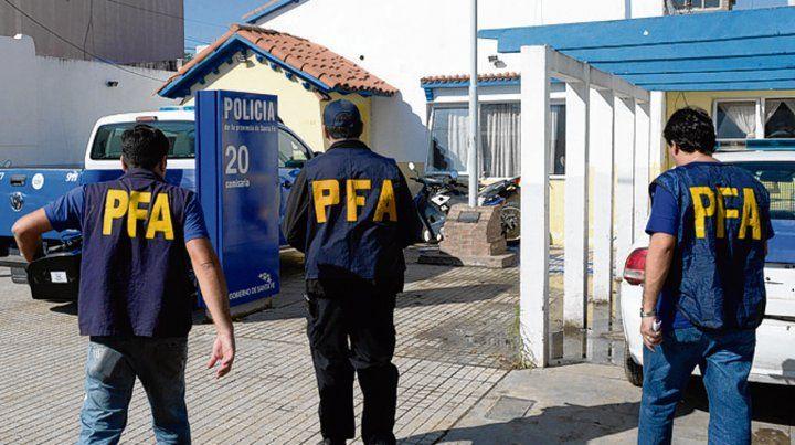 Operativo. En mayo pasado hubo allanamientos en Empalme Graneros.