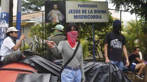 La vicepresidenta Rosario Murillo celebró las operaciones represivas.