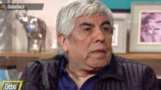 El domingo, Moyano dijo en el programa televisivo Debo  decir que la gente no pasaba antes las  necesidades que pasa ahora, con Cristina comía todo el mundo y ahora hay  gente que no come.