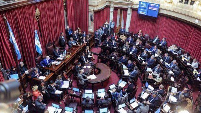 Una semana crucial para el tratamiento del proyecto en el Senado