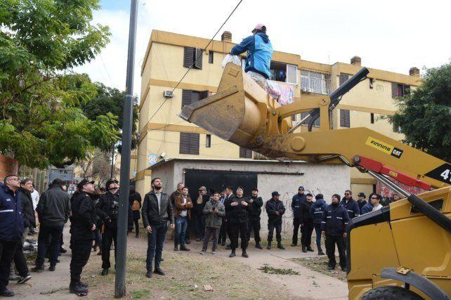 Pullaro: Trabajamos para que no se usurpen más viviendas y se usen para cometer ilícitos
