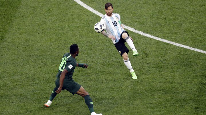 Argentina está en octavos de final
