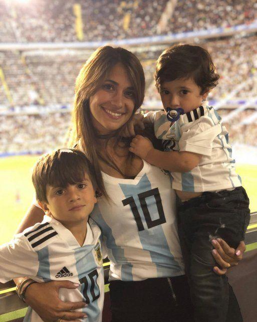 El mensaje de Antonela para Messi tras la clasificación a octavos