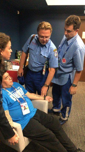 Diego Maradona Jr. habló sobre el estado de salud de su papá