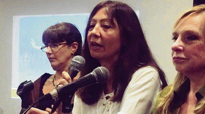 Silvia Vidal (centro)