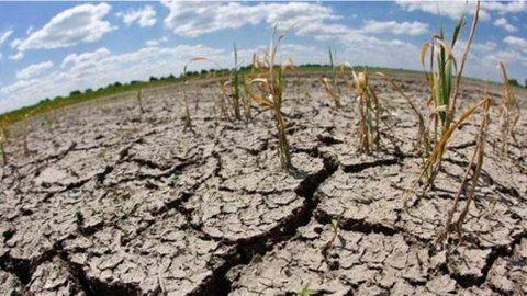 Sequía. Todas las variables indicadas deben ser monitoreadas a través de los datos locales o regionales.