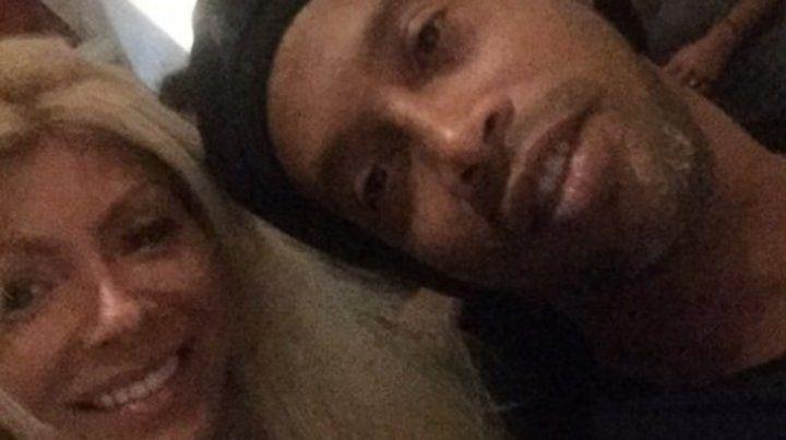 Una vedette cordobesa contó cómo fue el encuentro con Ronaldinho