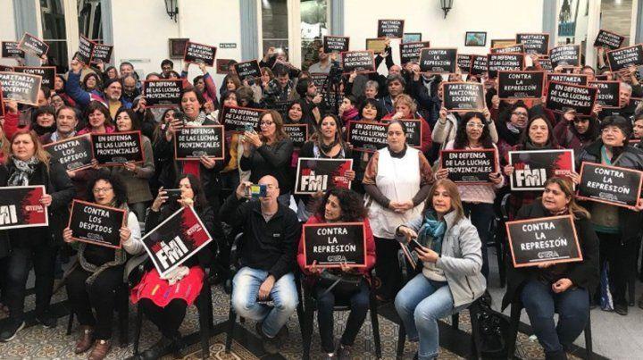 Paro nacional docente para el martes y en Rosario no habrá clases