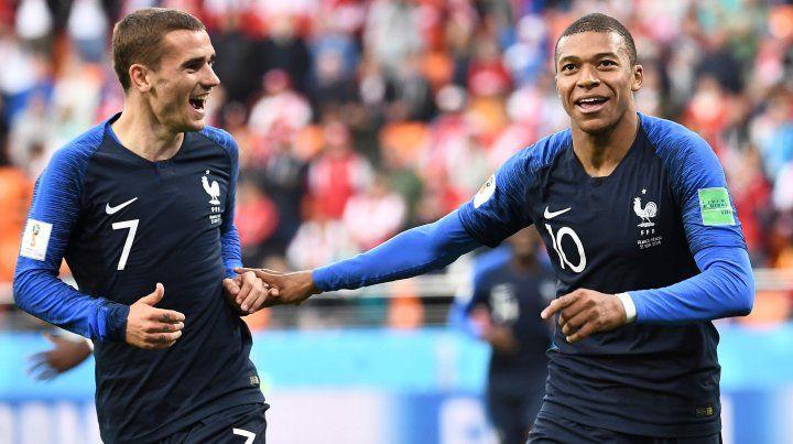 Griezmann y Mbappé son las cartas ofensivas màs importantes de Francia.