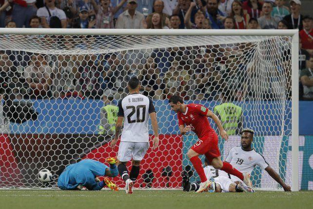 Suiza con un empate pasó a octavos