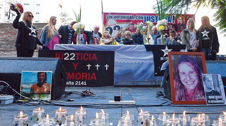 Pedido de justicia. Una explosión por fuga de gas derribó un edificio y mató a 22 personas el 6 de agosto de 2013