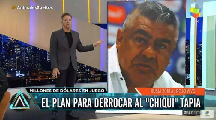 Fantino reveló el plan que existe para derrocar al Chiqui Tapia en la AFA