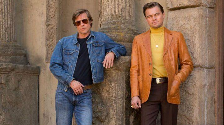 Actor y su doble. Pitt y DiCaprio