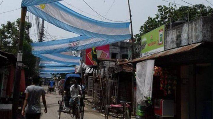 Por qué se festejó en las calles de Bangladesh el triunfo de Argentina