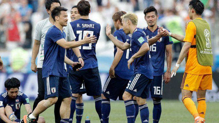 Japón perdió pero clasificó por tener dos amarillas menos que Senegal