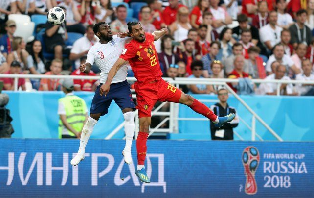 Bélgica le ganó a Inglaterra y se quedó con el grupo H