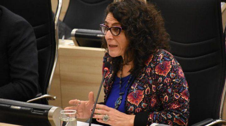 La edila Norma López