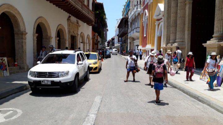 La colonial belleza de Cartagena de Indias.