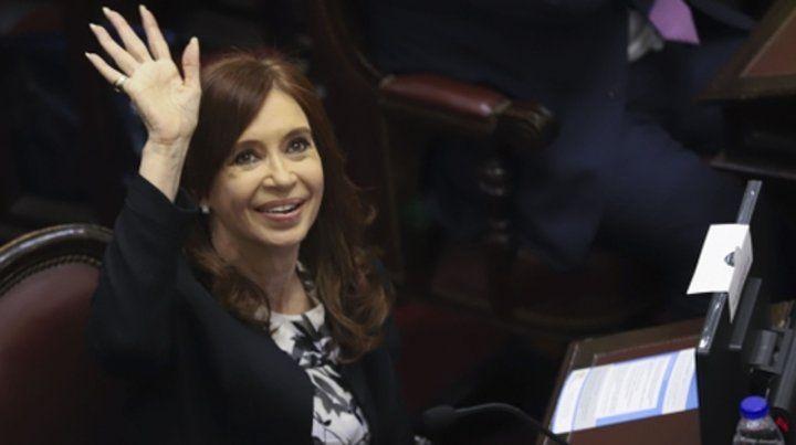 Senadora. La ex presidenta irá al banquillo por la denuncia de Nisman.