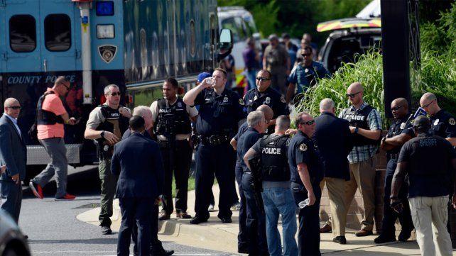 El sospechoso del ataque en Maryland tenía demanda con el diario
