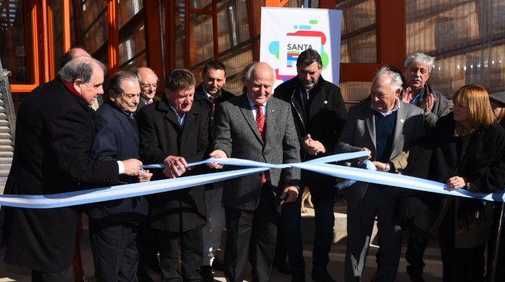El gobernador Lifschitz encabezó en Alcorta la inauguración del edificio que conmemora la rebelión agraria.
