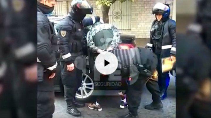 La policía frustró una entradera en barrio Luis Agote
