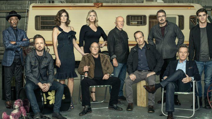 A una década del estreno. El elenco de la exitosa serie posó para la publicación Entertainment Weekly.