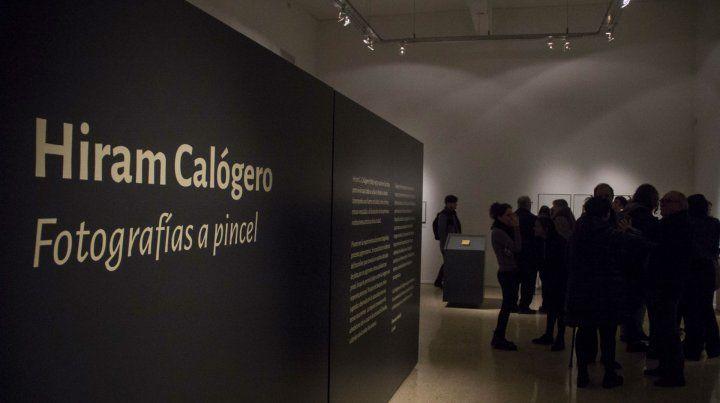 Arte y Fotografía. La muestra sobre las fotos de Calógero rescató obras no muy conocidas.