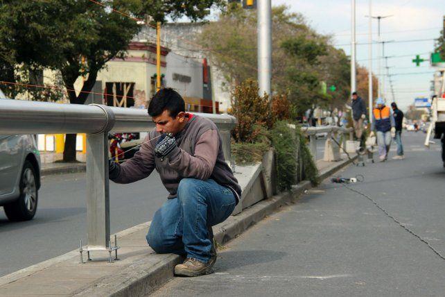 Los trabajos. El paseo será como el que va de San Juan a Entre Ríos.