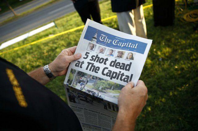 Traumático. El diario informó de la matanza que sufrió. Casi se quedó sin periodistas.