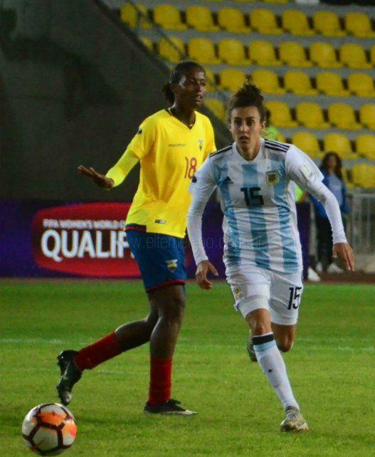 Sabe de qué habla. María Belén Potassa es futbolista y desde 2005 integra la selección argentina.