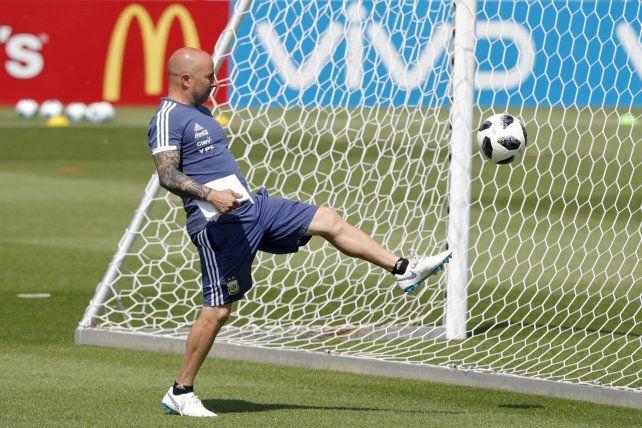 De zurda. El entrenador argentino