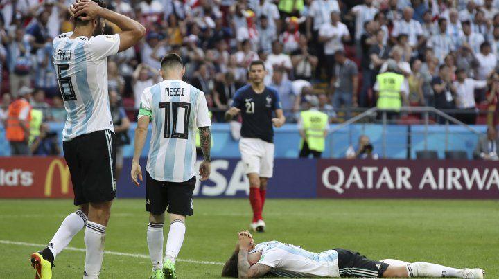 Argentina perdió 4 a 3 y se fue del Mundial