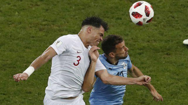 Con doblete de Cavani, Uruguay derrotó a Portugal y pasó a cuartos de final