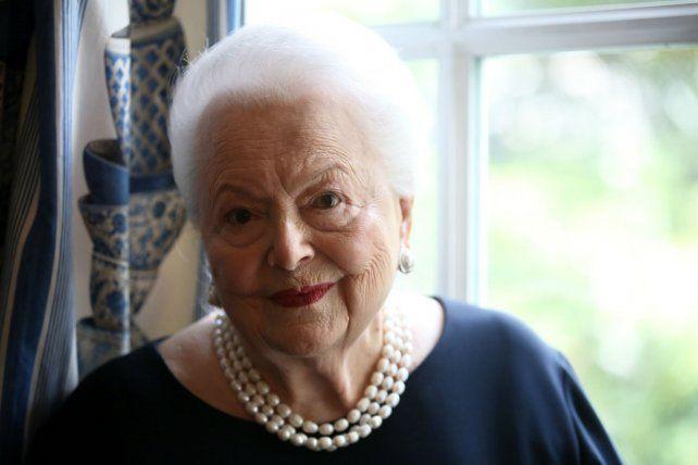 La actriz de Lo que el viento se llevó es una de las últimas estrellas vivas de la época dorada de Hollywood.
