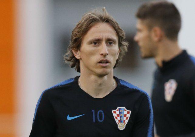 Marca el camino. Luka Modric lidera las expectativas del conjunto croata.