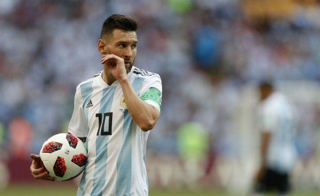 Ni en el cuarto. Messi