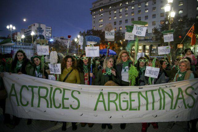 Pañuelazo. El martes hubo marchas en distintos puntos del país.