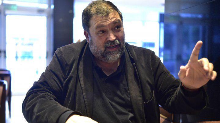 Caamaño Domínguez estuvo en Rosario