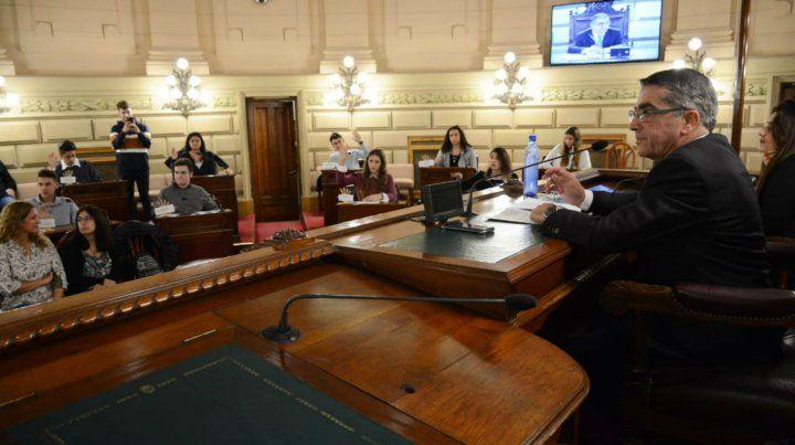 Usina de ideas. El proyecto surgió luego del programa Jóvenes al Senado.