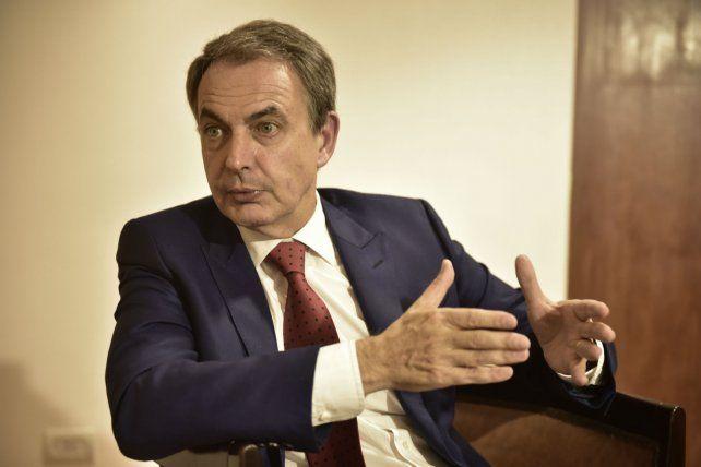 Rodríguez Zapatero dijo que el nuevo gobierno socialista español terminará con la precarización laboral del gobierno Rajoy.