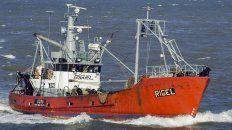 tras 23 dias de busqueda, prefectura hallo el pesquero rigel