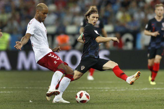 Croacia venció a Dinamarca por penales y pasó a cuartos