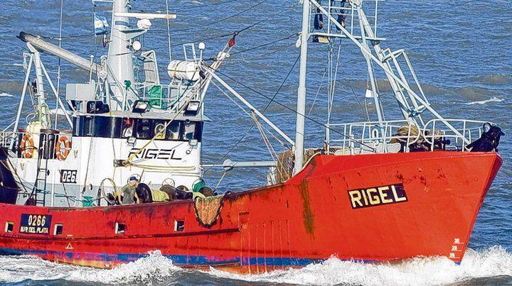 Rigel. El barco pesquero se comunicó por última vez con las autoridades a las 23 del viernes 8 de junio.